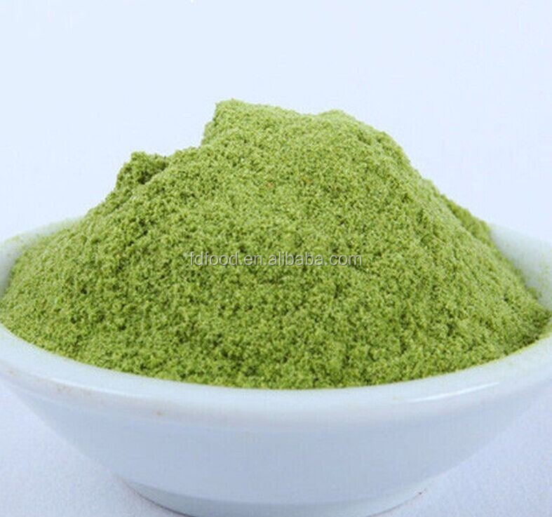 Freeze dried greens powder