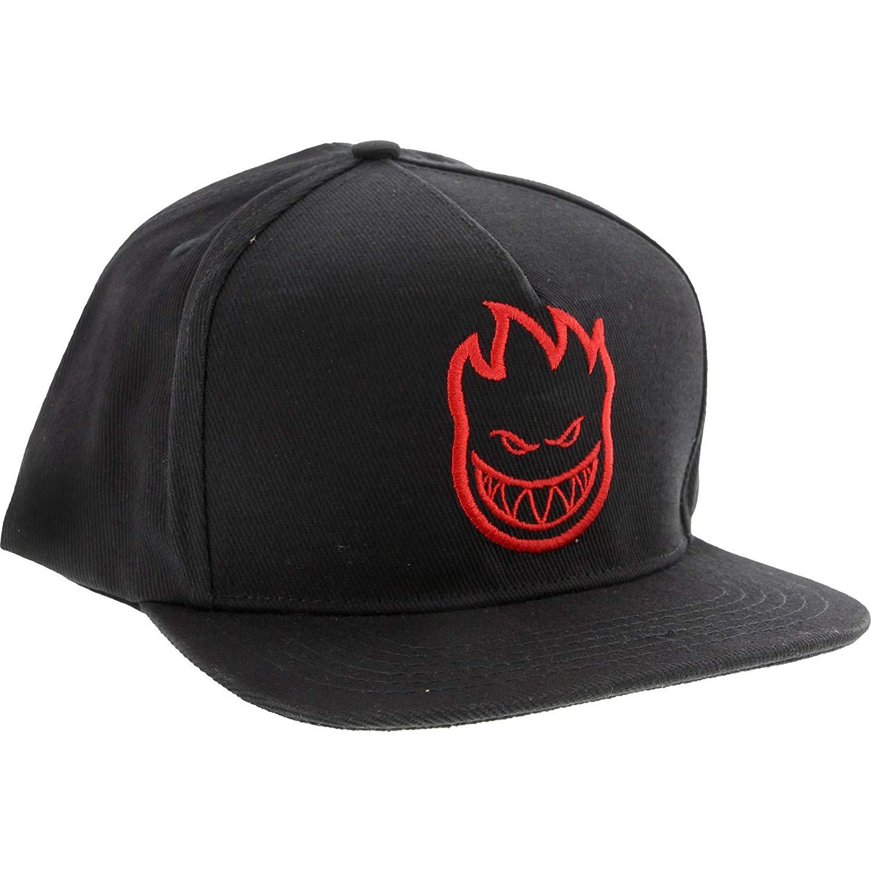 676d0d5fba4 Spitfire Bighead Skate HAT - Adjustable Black Red