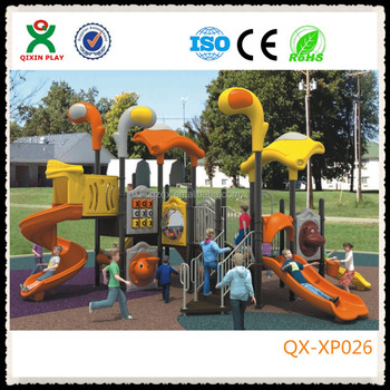 Unique Outdoor Plastic Backyard Playsets For Children To Play