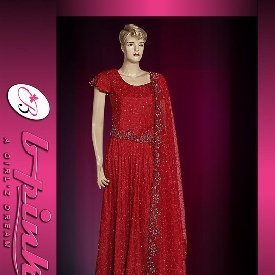 Pakistani Bridal Dresses( Red Net/jamawar Lengha ) , Buy Pakistani Bridal  Dresses Product on Alibaba.com