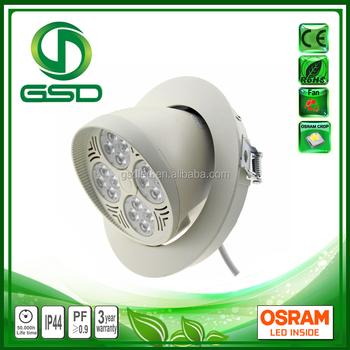 Aluminum Material Led Down Light Fixtures 35w Elephant Nose Light ...