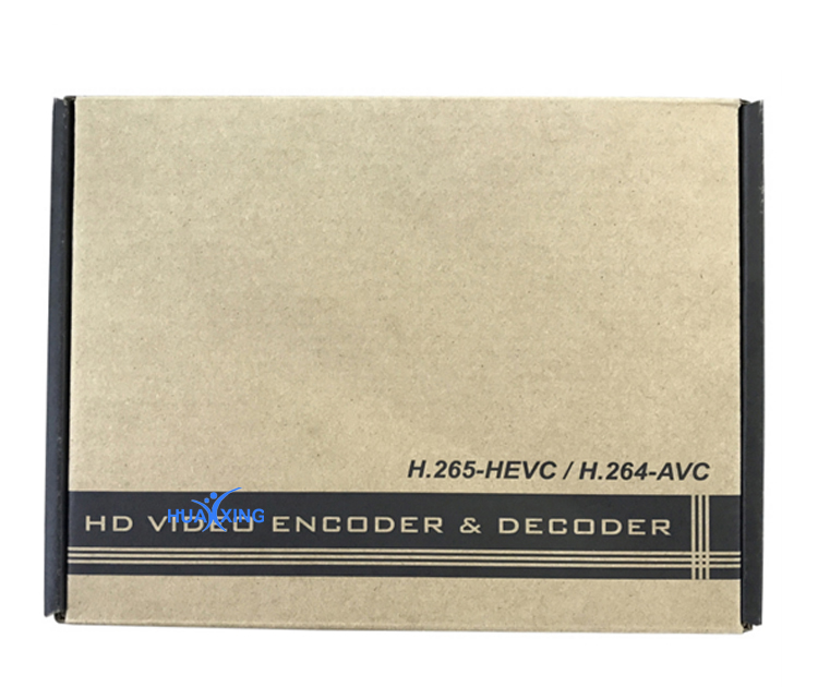 H.265 Encodeur HDMI Streaming IPTV RTMP Http Onvif Encodeur