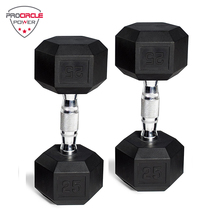 Kebugaran Gym Peralatan Karet Beban Hex <span class=keywords><strong>Dumbbell</strong></span> <span class=keywords><strong>Set</strong></span>