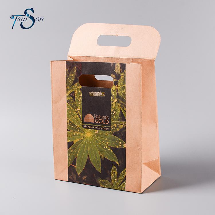 輸出製品美しいリサイクルクラフト紙バッグアリババ中国サプライヤー卸売