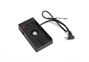 Ansso DV Blackmagic Cinema Camera BMPCC Battery Power Supply Mount Plate for Sony BP-U60 U30