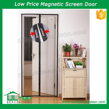 Attrayant Easy To Fix Magnetic Door Mesh Screen Curtain