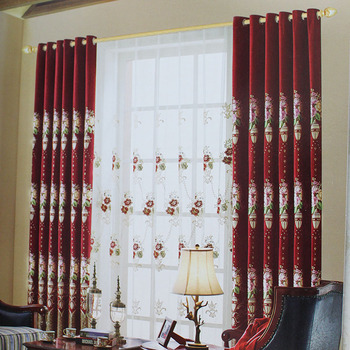 American Style Classic Designs Pictures Curtain Valance For Home Decor