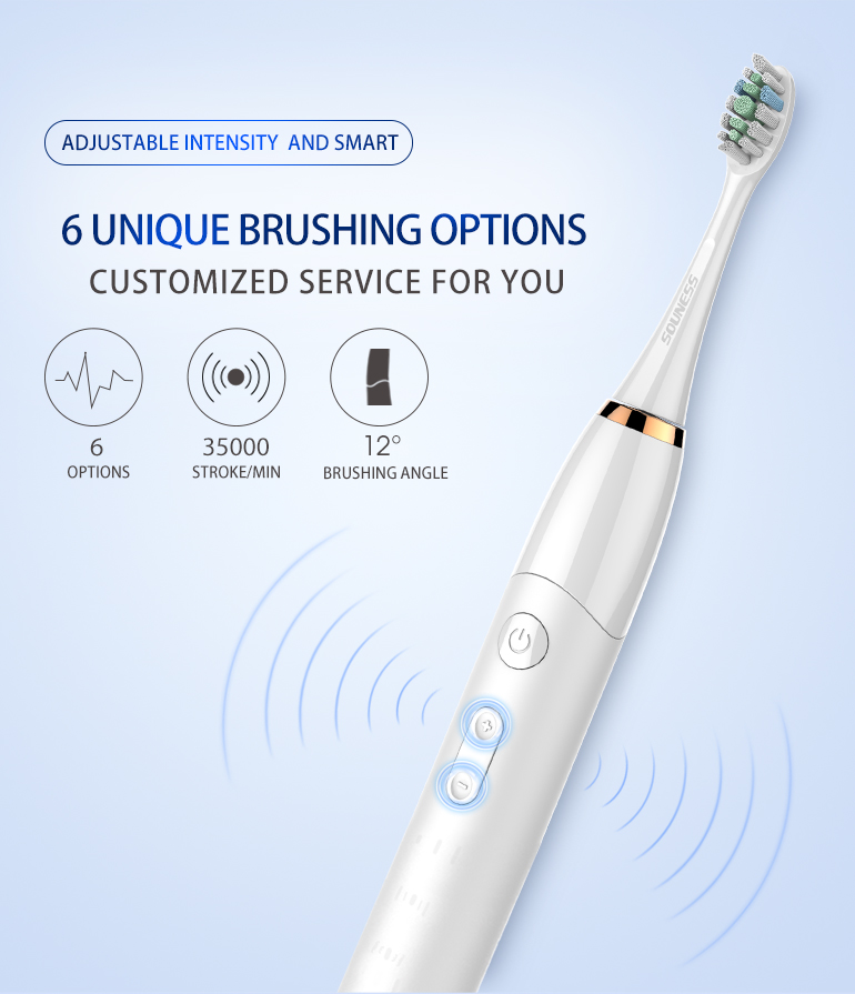 Wholesale Electric Toothbrushes Personalized Electronic Toothbrush SN801