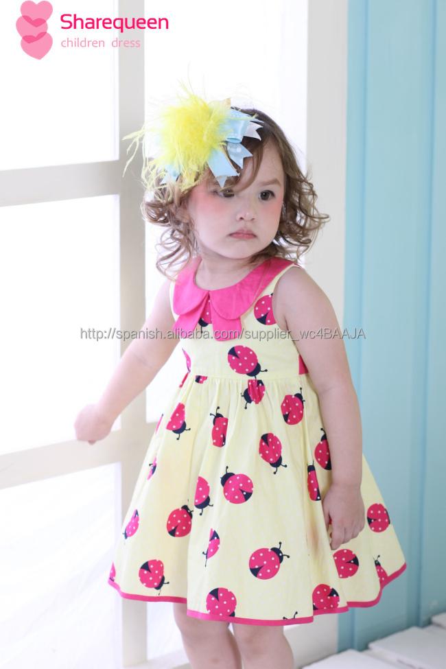 Vestido 2015 de la moda de diseño bebé, poco niñas vestido de ...