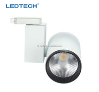 30W 40W 3000lumens high quality 360 degree rotatable Citizen chip with lens of Led track light black white