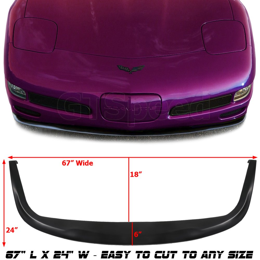 All 97 through 04 Corvettes C5 ZO6 Style Corvette Fog Light Screen With Housing Includes Both Sides Fits