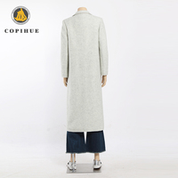 high end 100% cashmere pure color coat women