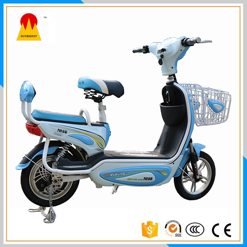 Electric Mini Bike Bikes For Kids Racing 48V Motorcycle Blue Outdoor