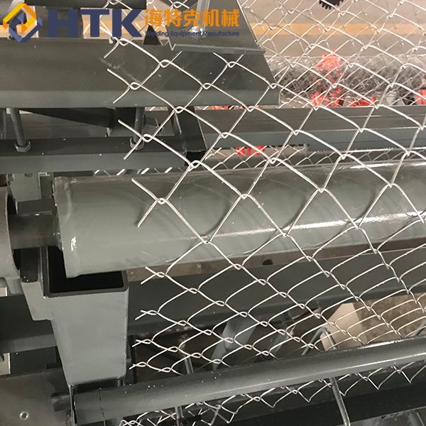 Cheap price used full automatic Chain link fence making machine