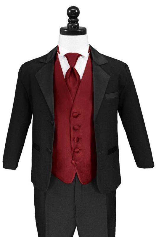 b63fec287 Get Quotations · Formal Boys Tuxedo Summer Wedding Attire BM-0071 Children  Suits for Flower Boys Wedding Party