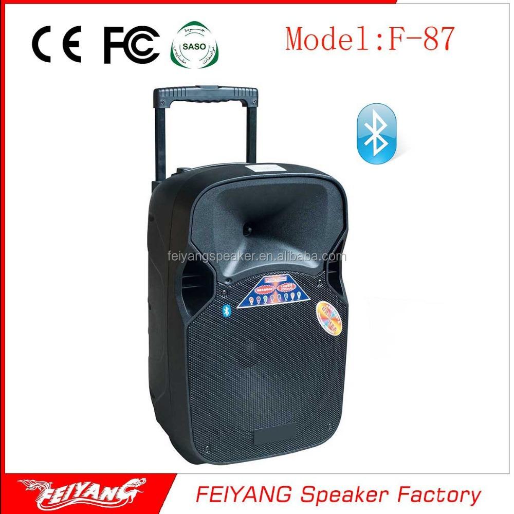 On Sale Portable Professional Active Speaker 12v