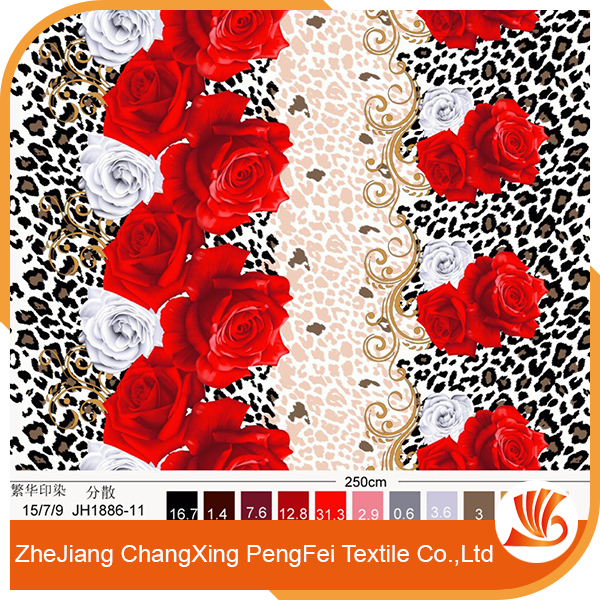 3D african print flower furniture fabric with high quality