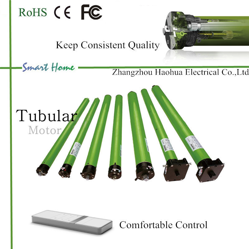 tubular motor with batteries for blinds / roller shutter / rolling shutter