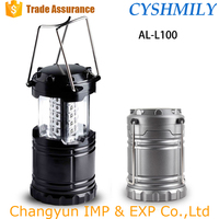 outdoor plastic 30 LED camping lantern LED camping light