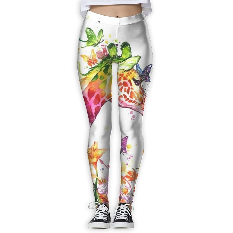 de920b82979b0 Ml Koou Novelty Giraffe Animal Yoga Pants for Women Workout Leggings  Athletic Leggings Yoga Leggings