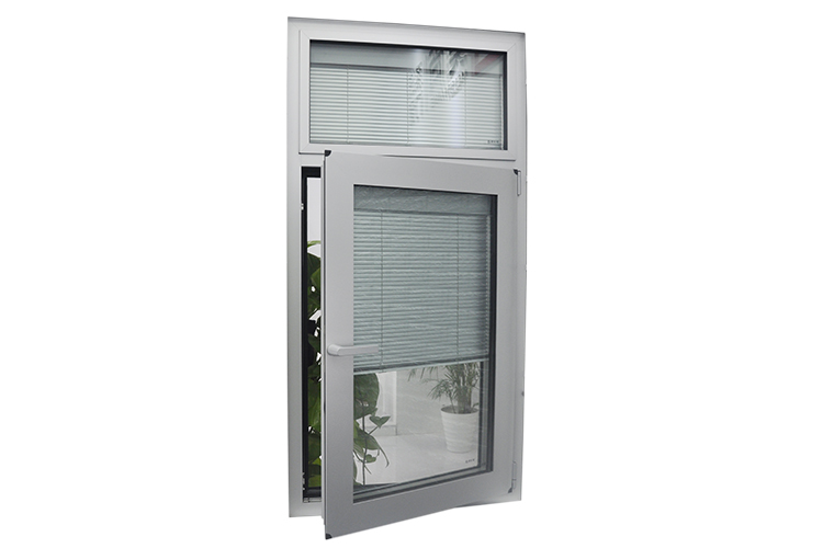 Three Triple Track Double Tempered Glass Aluminum 3 Track Sliding Window