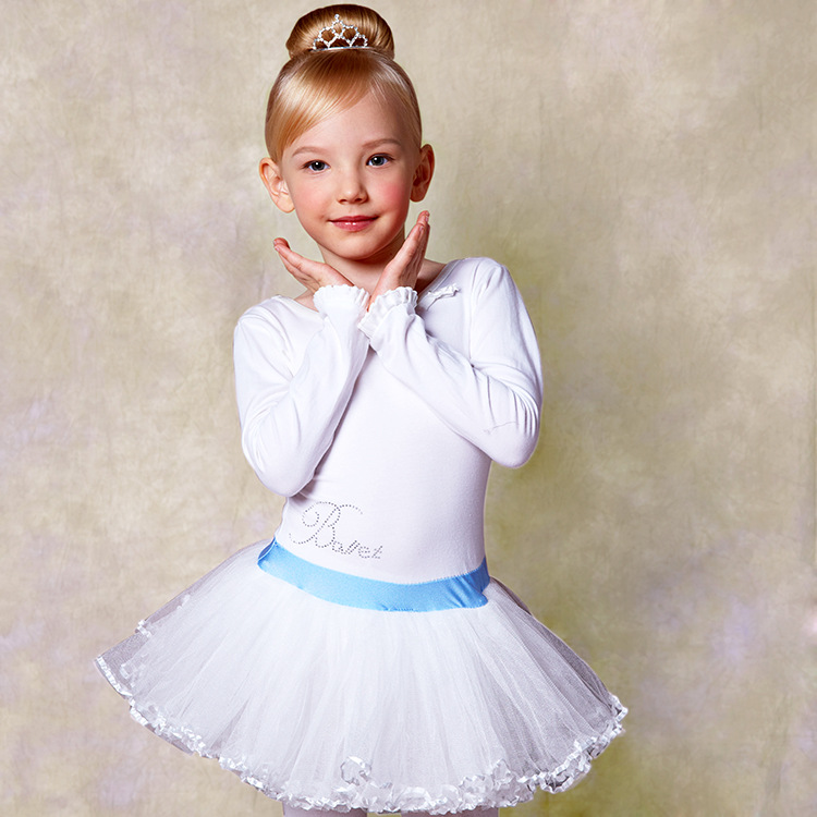 1b8a953b5 Wholesale Boutique Girls Ballet Dress Lace Long Sleeve Beautiful ...