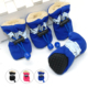 4pcs Winter Anti slip Rain Snow Boots Footwear Thick Waterproof Soft Warm Velvet Pet Dog Shoes