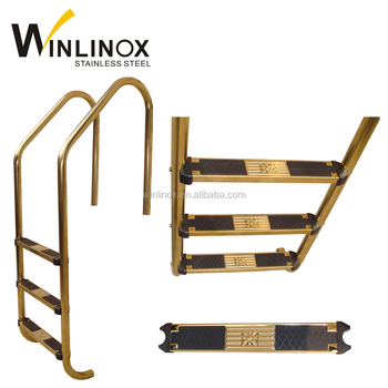 Winlinox Swimming Pool 4 Step Ladder With Safety Rail - Buy 4 Step Ladder  With Safety Rail,Swimming Pool Accessories,Stainless Steel Pool Ladder ...