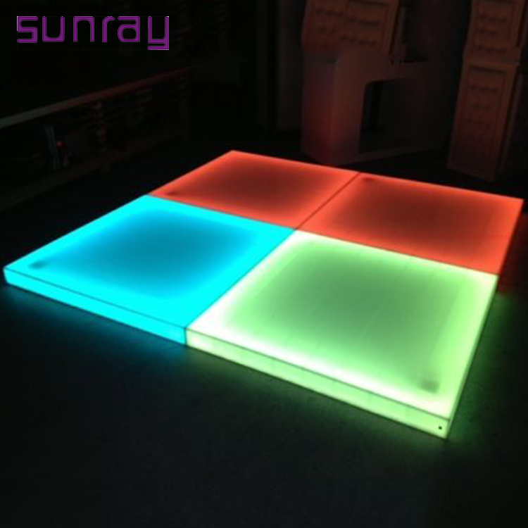 Wholesale Price Sound-Activated 30 Channels 512 Dmx Control Stage Panels Lamp Led Dance Floor Light