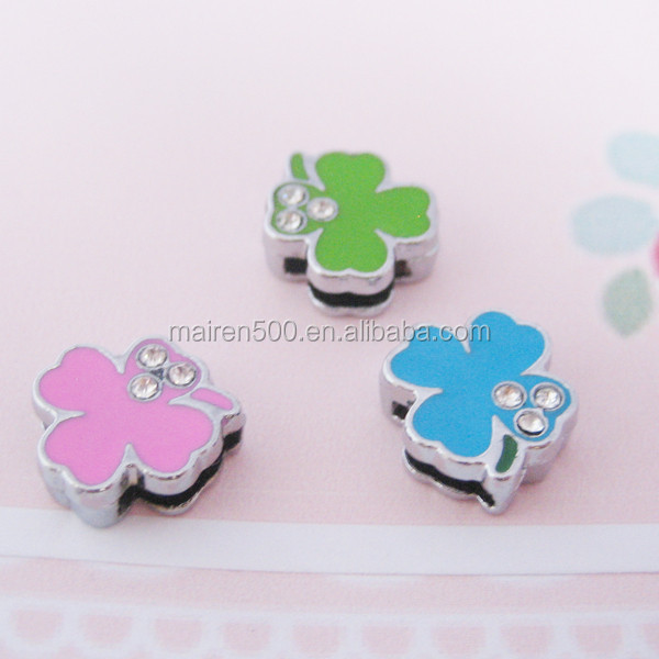 jewelry stores metal craft 8mm slide charms for 8mm bracelet