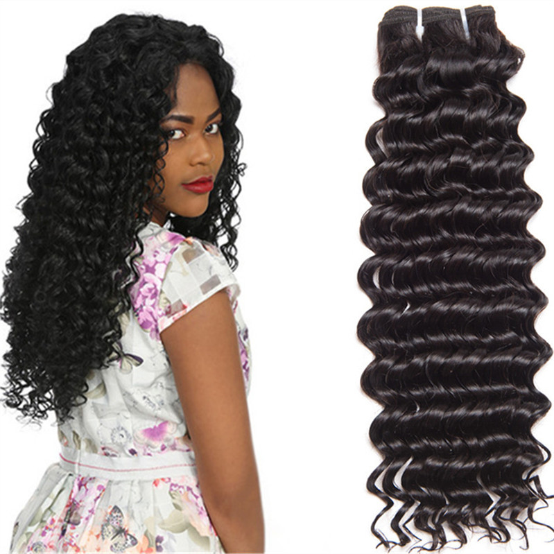 LeYuan glow in the dark bundle wraps packaging golden perfect brazilian hair prices