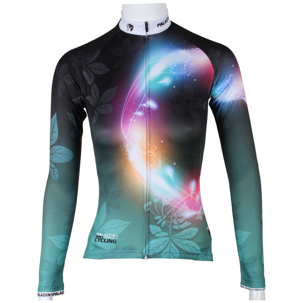 Free shipping 2015 Spring and autumn season long sleeved female section of the green leaf color irisSQ-276