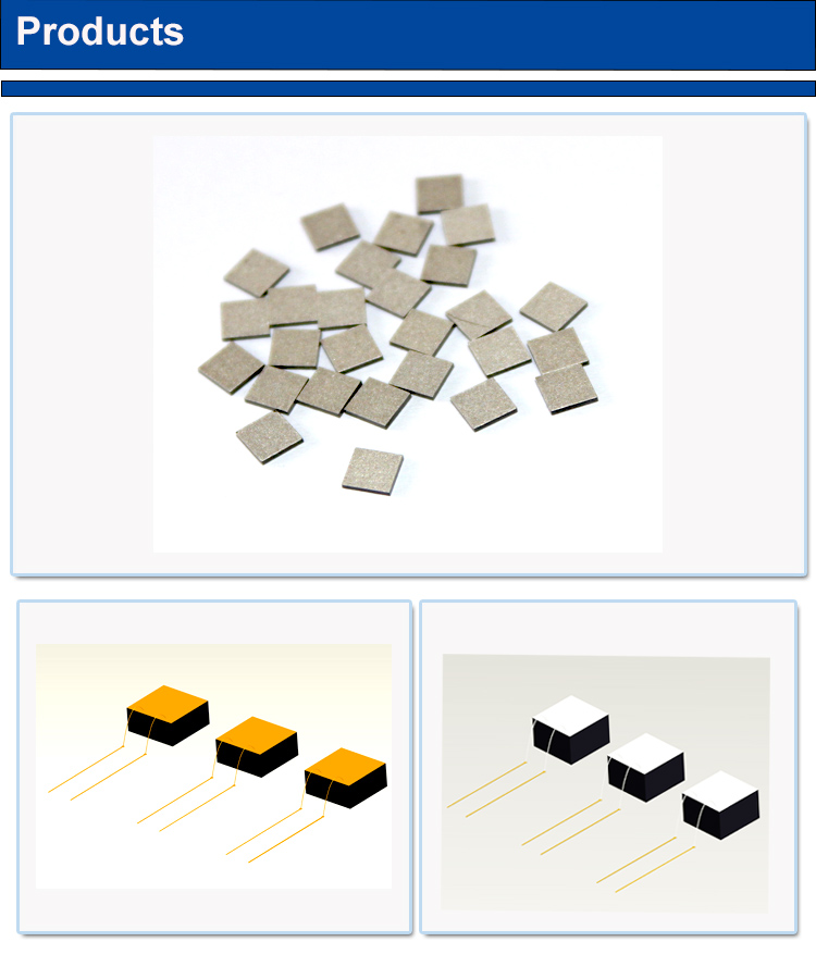 50k cob wire bonding silver electrode thermistor chip