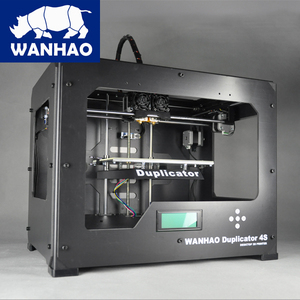 Dual extruder 3D Printer Wanhao Duplicator 4S,Perfect quality with CE certification challenger printing machine in China