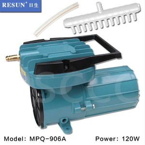 120W MPQ-906A 24V DC Aquarium Fish Tank Air Compressor Aquaculture Hydroponics Pond Oxygen Air Pump Air Aerator Pump MPQ906A