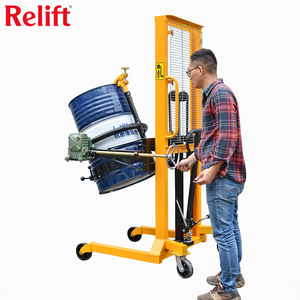 Relift DA Scale Oil Drum Lifter Truck Stacker Lifting Drum Truck Lifter 450kg Popular stacker lift