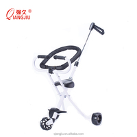 Factory Sale Special Design three wheels or five wheels Baby Walker Easy Control Baby Stroller with flashing wheels