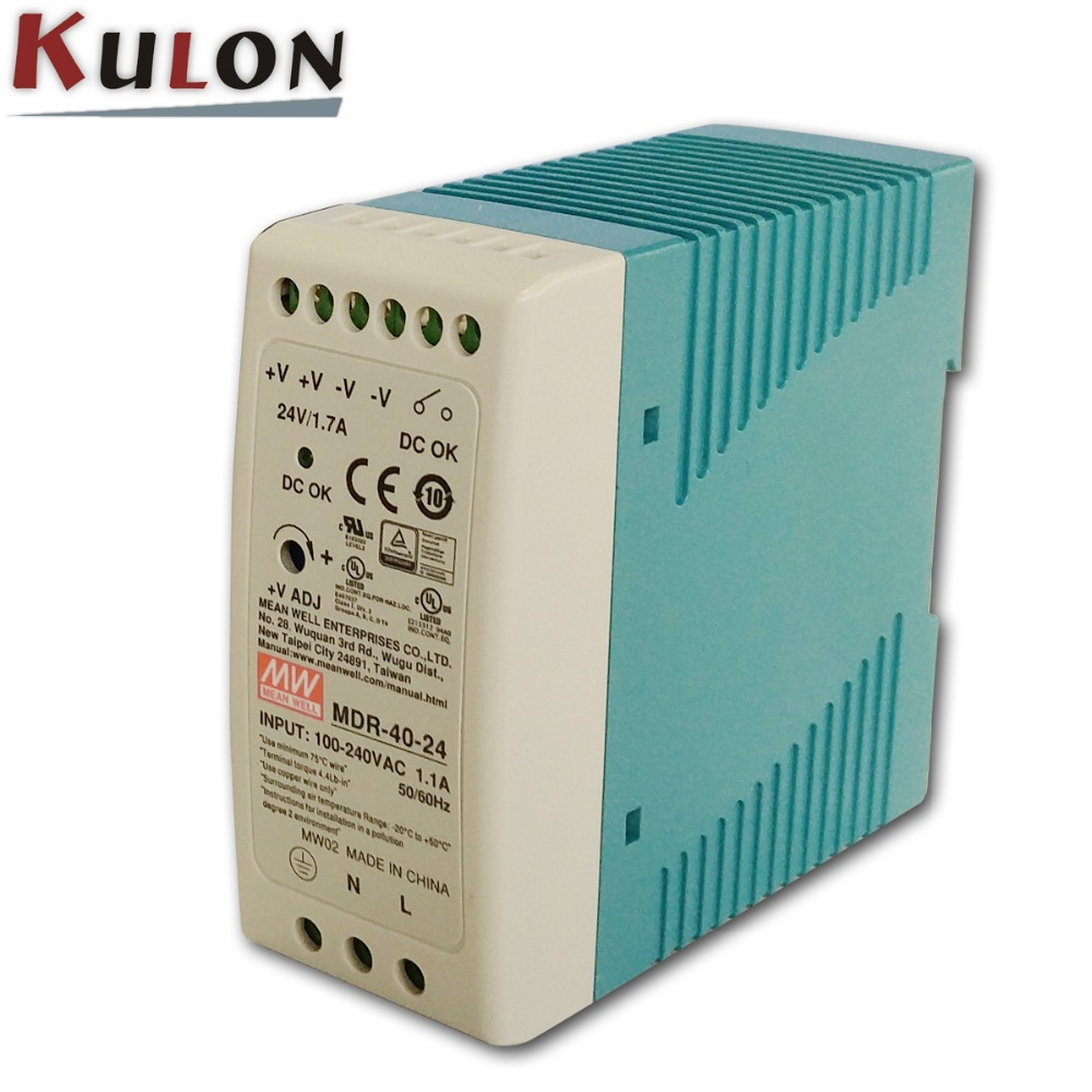 MEAN WELL 10w din rail Power Supply MDR-10 slim electronics instrument