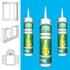 low modulus neutral cure door & windows cheap silicone sealant