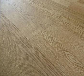 A B Grade Wide Plank Oak Engineered Wood Flooring