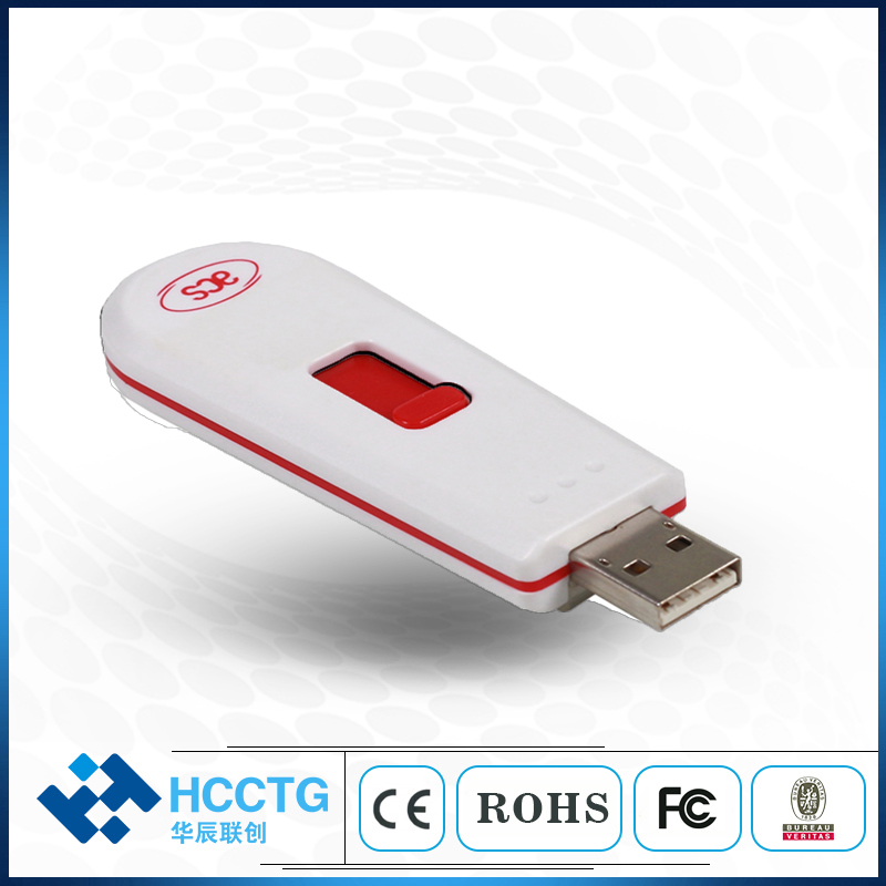 ISO14443 PC SC Compliant Contactless NFC USB Card Reader ACR122T