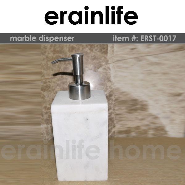 Cuadrado blanco m rmol dispensador de jab n l quido espuma for Liquido para marmol