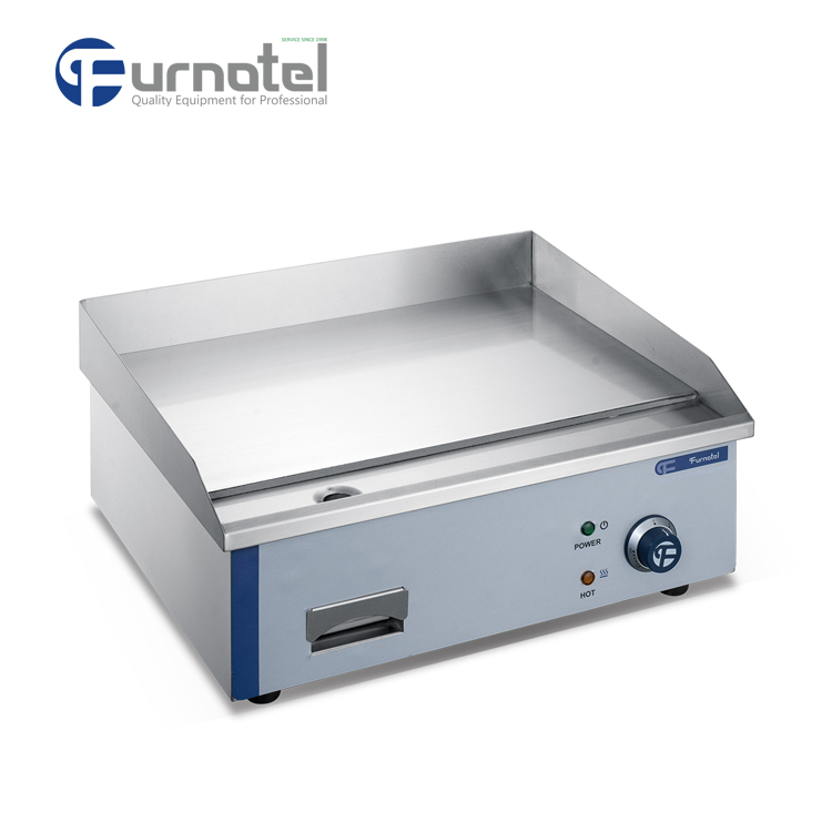 Commercial Restaurant Using Electric Cast Iron Flat Griddle Equipment FSEGD-0605B