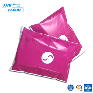 High-grade Customized Big Polythene Pink Mailing Bags/Poly mailer 10x13