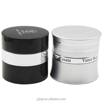 custom high-end cylinder cream packaging bottle cosmetics jar 50 ml