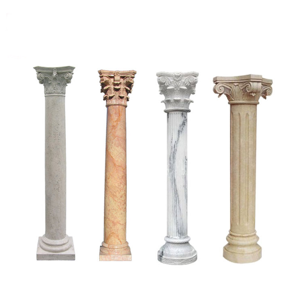 Corinthian Marble Round Entrance Gate House Pillar Design Buy