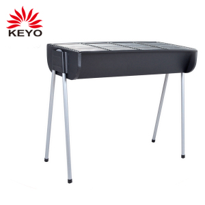 Large Size Outdoor Commercial Cooking Bbq Charcoal Grill Stand Black Big Barbecue Grill