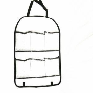 Factory Made Professional Light Weight PVC Plastic Pockets Hanging Organizer