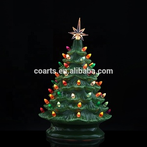 Ceramic Christmas Trees.Hot Sale Lighted Ceramic Christmas Tree Christmas Decorations