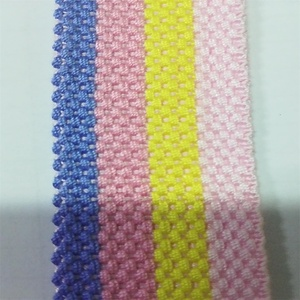 Beautiful design jump point lace webbing tape for clothing accessory